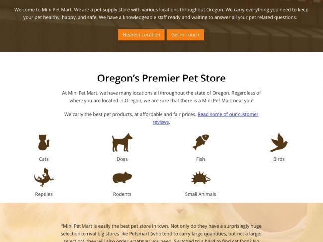 Mini Pet Mart Store 876