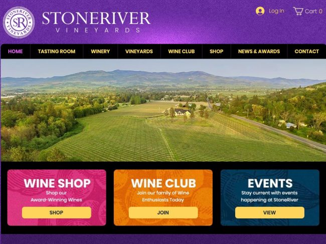 StoneRiver Vineyards